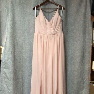 Blush pink Bill Levkoff dress